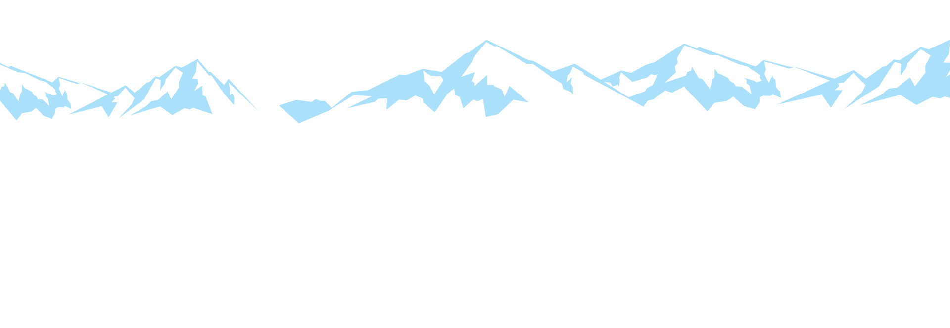 Blue colored animated mountains